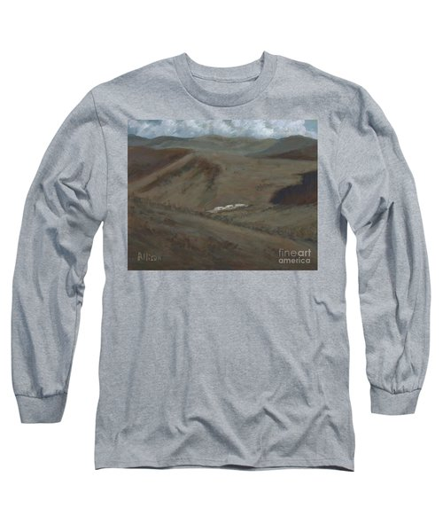 Indian Lodge - A View From The Top Ft. Davis, Tx Long Sleeve T-Shirt
