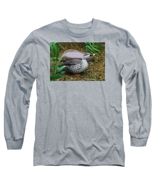 Indian Spot-billed Duck Long Sleeve T-Shirt