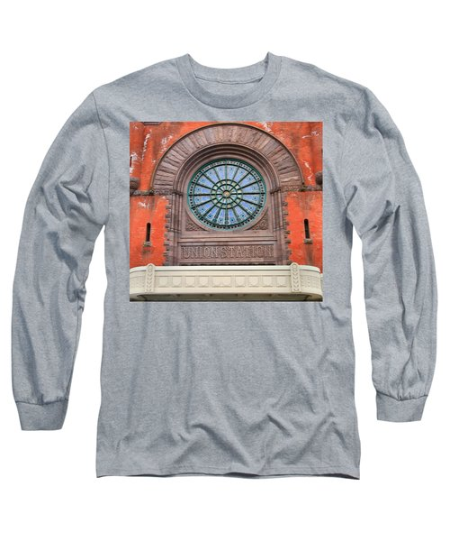 Indianapolis Union Station Building Long Sleeve T-Shirt