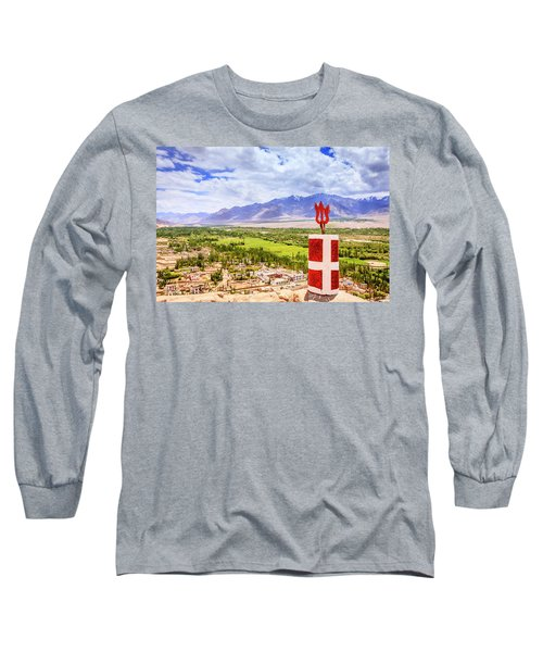Long Sleeve T-Shirt featuring the photograph Indus Valley by Alexey Stiop
