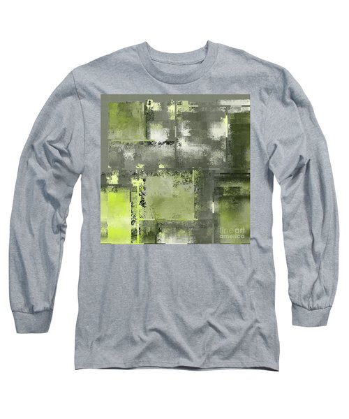 Industrial Abstract - 11t Long Sleeve T-Shirt by Variance Collections