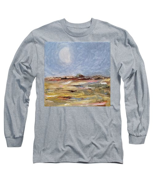 Long Sleeve T-Shirt featuring the painting Inevitable Epoch by Judith Rhue