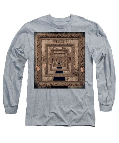 Infinity Long Sleeve T-Shirt by Anna Rumiantseva