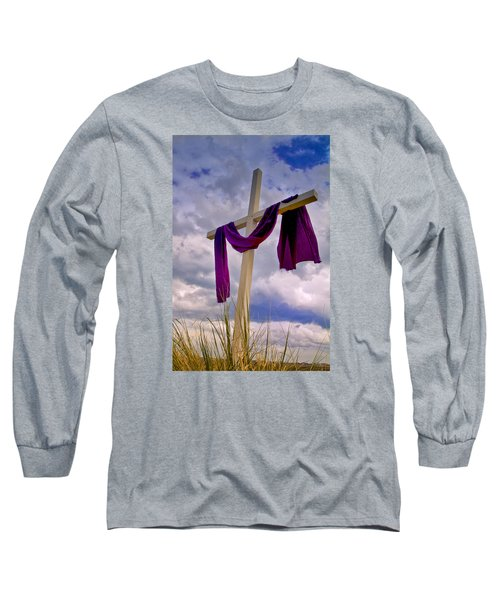 Long Sleeve T-Shirt featuring the photograph Inlet Cross by Bill Barber