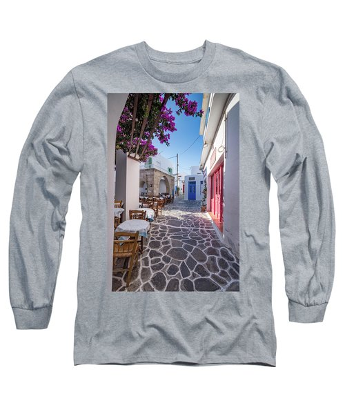 Inside Plaka, Milos Long Sleeve T-Shirt