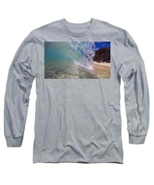 Inside The Curl Big Beach Maui Wave Long Sleeve T-Shirt