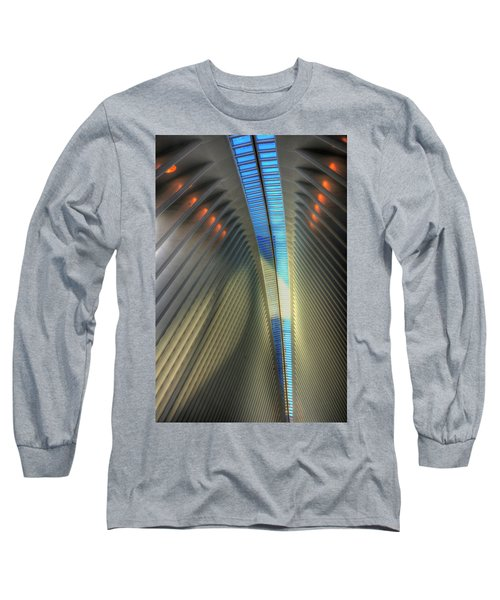 Inside The Oculus Long Sleeve T-Shirt by Paul Wear
