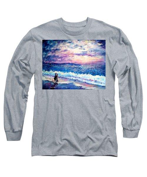 Inspiration-the Musician Long Sleeve T-Shirt by Shana Rowe Jackson
