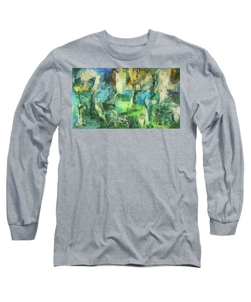 Inspired By Roberto Matta Long Sleeve T-Shirt