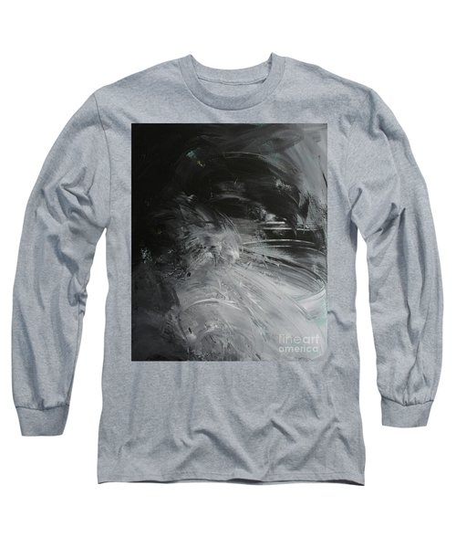 Long Sleeve T-Shirt featuring the painting Intelligent Answers by Robin Maria Pedrero
