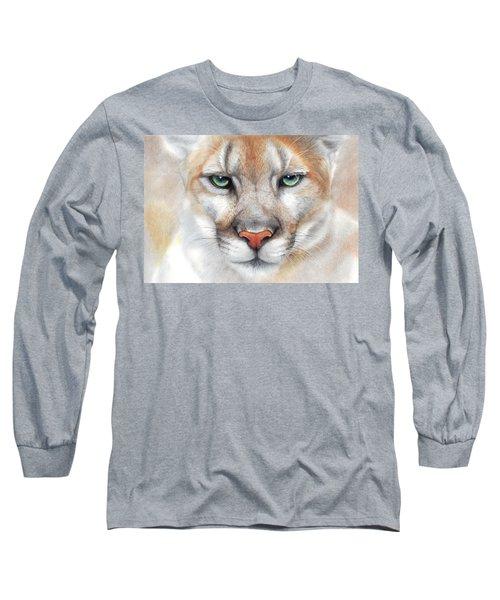 Intensity - Mountain Lion - Puma Long Sleeve T-Shirt