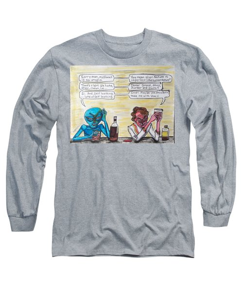 Intergalactic Reality Check Long Sleeve T-Shirt