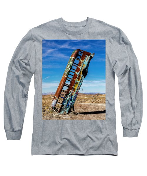 Long Sleeve T-Shirt featuring the photograph International Car Forest Of The Last Church by James Sage