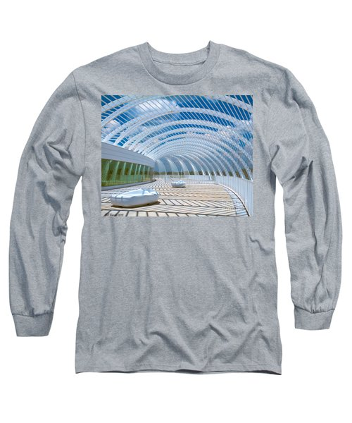 Intersecting Lines - Pastels Long Sleeve T-Shirt