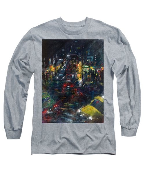 Intersection Long Sleeve T-Shirt by Leela Payne