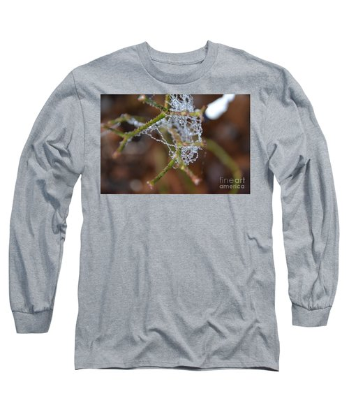 Intertwined In Beauty And Life. -georgia Long Sleeve T-Shirt