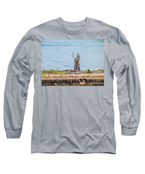 Intertwined Thoughts By The Ocean Long Sleeve T-Shirt