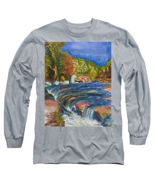 Into Slide Rock Long Sleeve T-Shirt