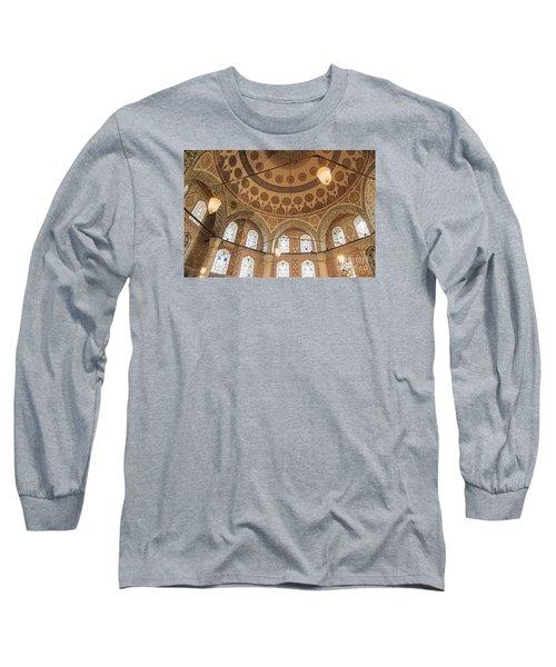 Into The Hagia Sophia Mausoleum Long Sleeve T-Shirt by Yuri Santin
