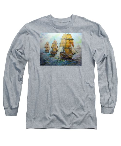 Into The Mediterranean Long Sleeve T-Shirt