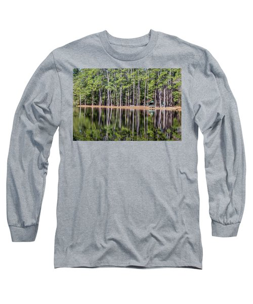 Into The Sc Woods Long Sleeve T-Shirt by Menachem Ganon