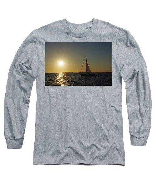 Into The Sun Long Sleeve T-Shirt by Greg Graham