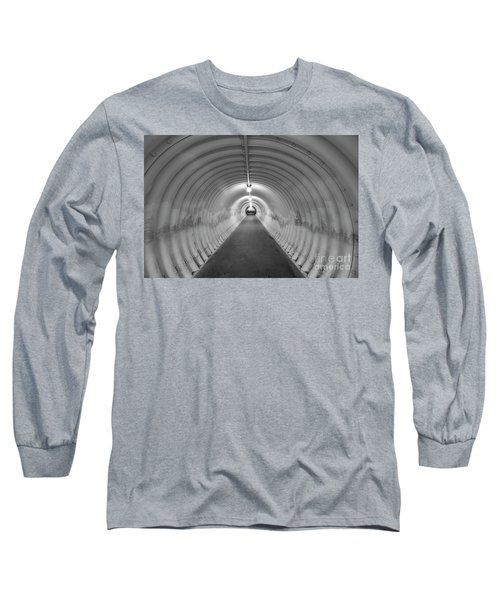Long Sleeve T-Shirt featuring the photograph Into The Tunnel by Juli Scalzi