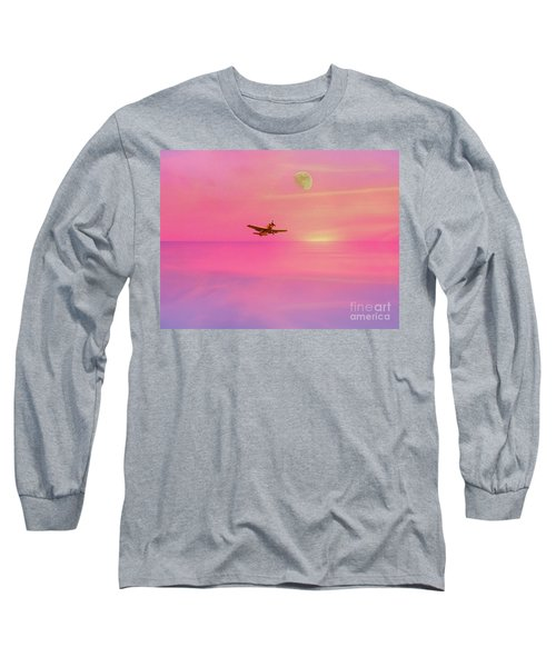 Into The Wild Pink Yonder Long Sleeve T-Shirt