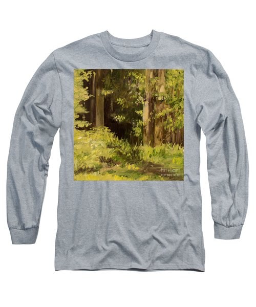 Into The Woods Long Sleeve T-Shirt by Laurie Rohner