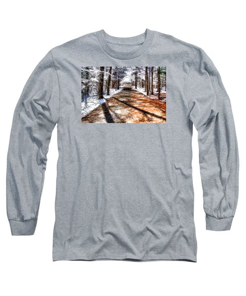 Into Winter Long Sleeve T-Shirt by Betsy Zimmerli