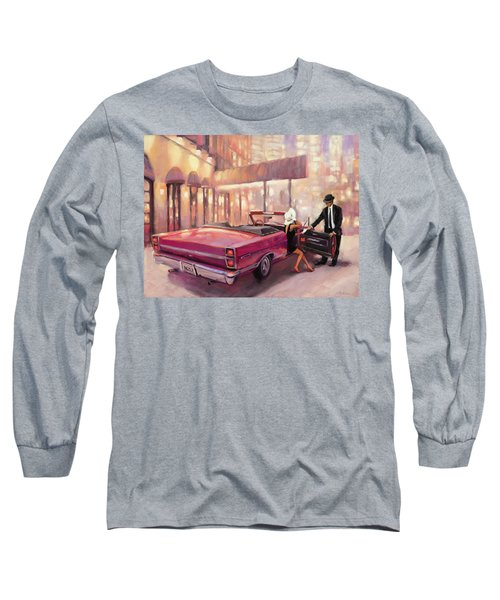 Long Sleeve T-Shirt featuring the painting Into You by Steve Henderson