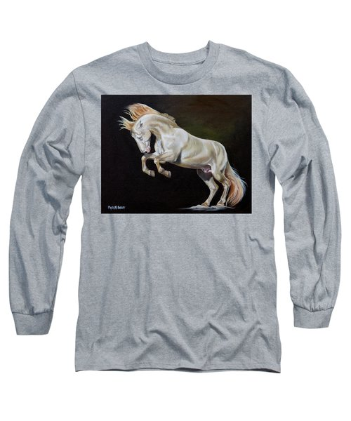 Intrepid Long Sleeve T-Shirt by Phyllis Beiser