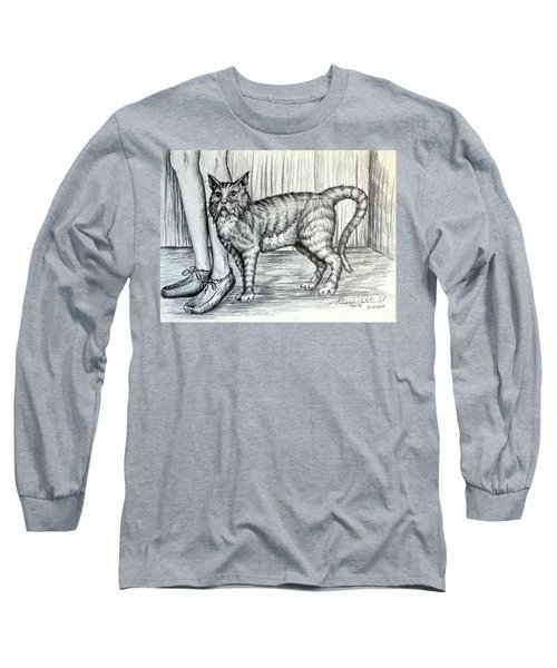 Intrigue  The Cat Long Sleeve T-Shirt