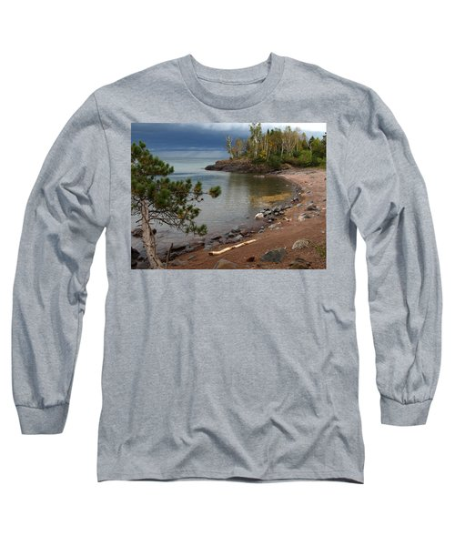 Long Sleeve T-Shirt featuring the photograph Iona's Beach by James Peterson