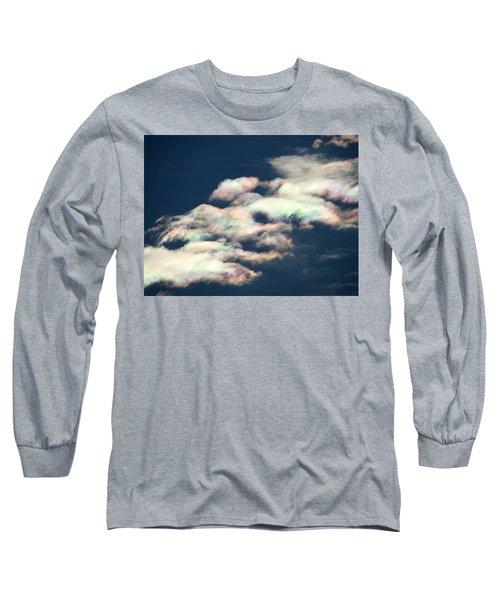 Iridescent Clouds Long Sleeve T-Shirt