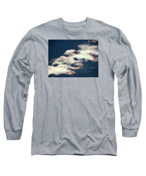 Iridescent Clouds Long Sleeve T-Shirt