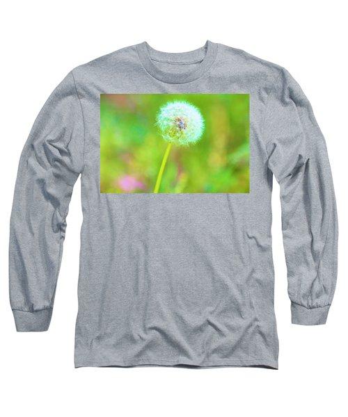 Iridescent Glow Long Sleeve T-Shirt