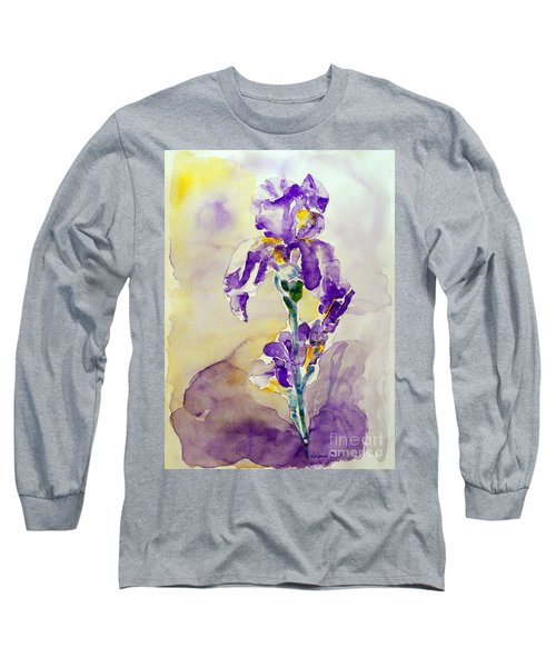 Iris 2 Long Sleeve T-Shirt by Jasna Dragun