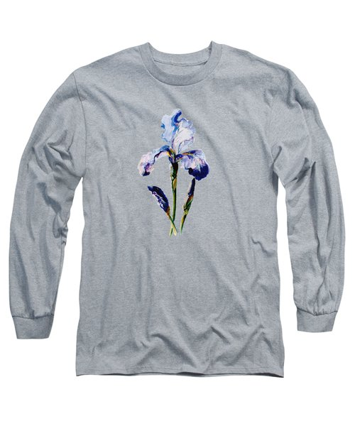 Iris A Long Sleeve T-Shirt by Mary Armstrong
