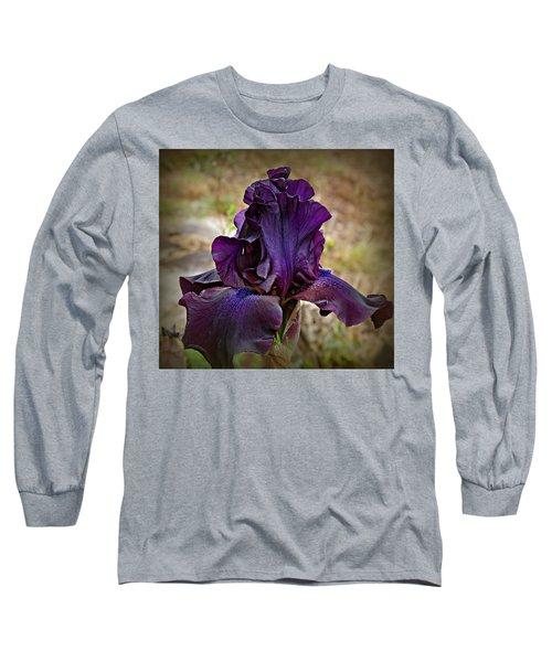 Iris Beauty Long Sleeve T-Shirt by Katie Wing Vigil