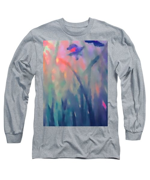 Iris Long Sleeve T-Shirt by Holly Martinson