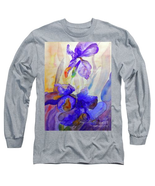 Iris Long Sleeve T-Shirt by Jasna Dragun