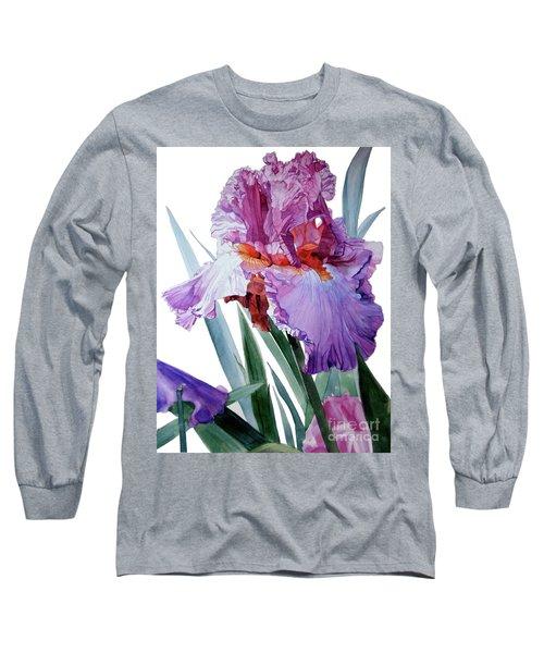 Iris Luciano Pavarotti Long Sleeve T-Shirt by Greta Corens