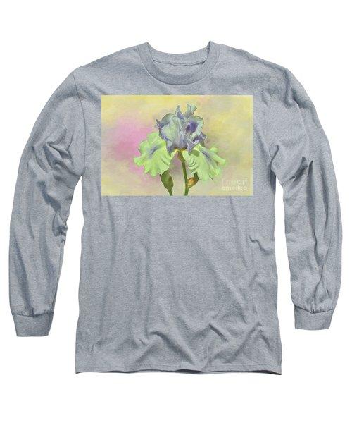 Iris Pastels Long Sleeve T-Shirt by Suzanne Handel