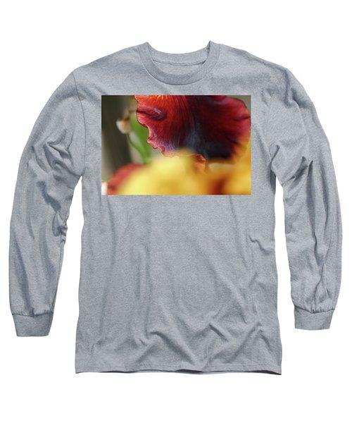 Iris Petals 2 -  Long Sleeve T-Shirt