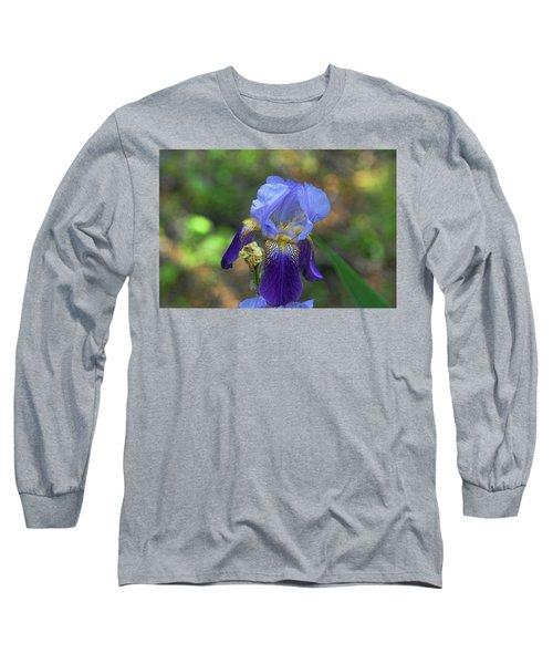 Iris Purple And Blue Long Sleeve T-Shirt