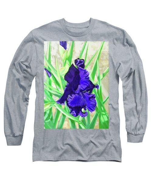 Iris Royalty Long Sleeve T-Shirt