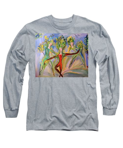 Irish Greenery  Long Sleeve T-Shirt