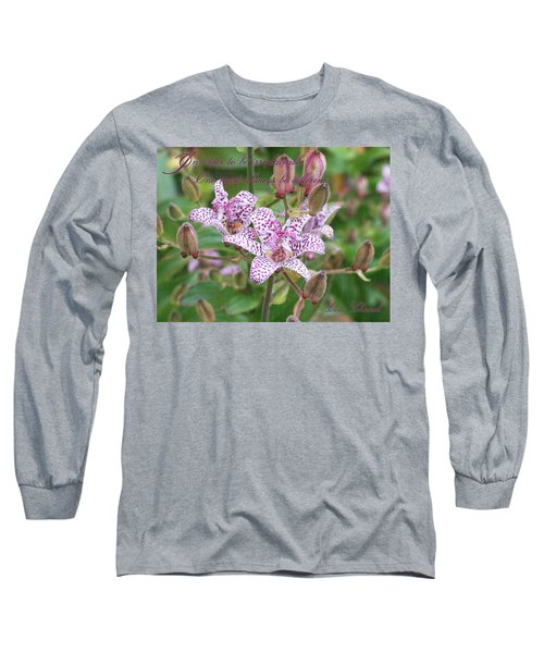 Irreplaceable Long Sleeve T-Shirt