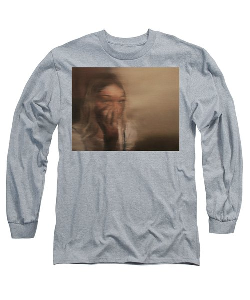 Is Everyone Looking? Long Sleeve T-Shirt by Cherise Foster